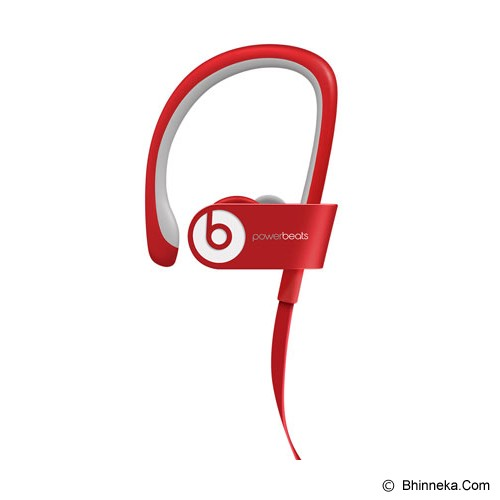 BEATS™ BY DRE™ Powerbeats™ 2 Wireless In-Ear Headphone [MHBF2PA/A] - Red - Earphone Ear Monitor / Iem